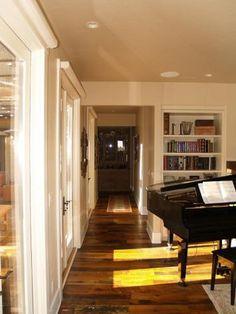 Mixed hardwood, engineered floor