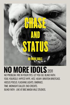 Chase And Status, Minimalist Music, Blind Faith, Uni Room, Music Posters, Poster Wall, Album Covers, Albums, Design