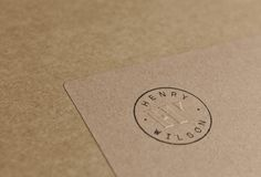 Identity for Henry Wilson, an australian product designer. By Maud