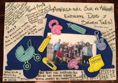 """""""South America is magical! Two go in and three come out!"""" And what a magical moment when my Ecuadorean family surprised me with a baby shower! Presents games and this amazing Westy card signed by a dozen vanlifers. Bébé and I are so #blessed. #happiness #vanlife #vanagon #babyshower by crepeattack"""