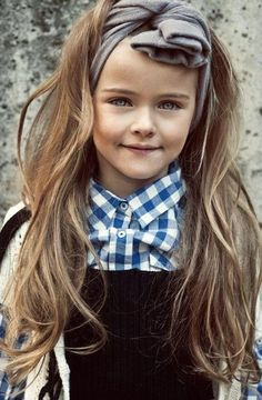 Us hairdressers always look to children's hair for color inspiration... Look at this gorgeous little girl, do you see why? ;-}