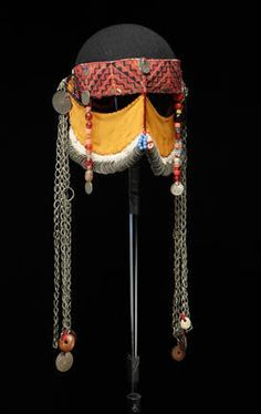 Headdress – Veils – Palestine – c. High Fashion Makeup, Arab Fashion, Islam Women, Arabian Beauty, Fantasy Makeup, Fantasy Hair, Masks Art, Saint Laurent, Tribal Jewelry