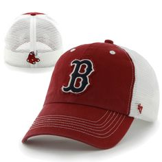 d575c8ddd7c 47 Franchise - Stretch Fit - Blue Mountain - Red. Red Sox HatBlue  MountainFitted CapsBoston ...