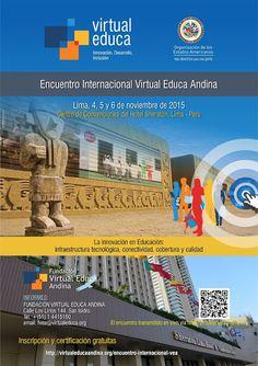 Teresa Clotilde Ojeda Sánchez: Virtual Educa Andina 2015: Ceremonia inaugural  05...