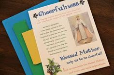 Shower of Roses: Little Flowers Girls' Club ~ Cheerfulness