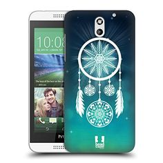 f922ee3d6e15 Head Case Designs Dreamcatcher Snowflakes Hard Back Case Cover for HTC  Desire 626