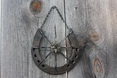 Lucky Horse Shoe Star by corinnedover on Etsy, $35.00