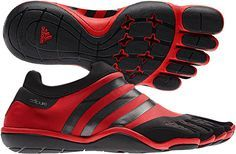 Adidas Adipure Trainer. I got some similar to these for Christmas, except mine are mostly black with blue!! :D