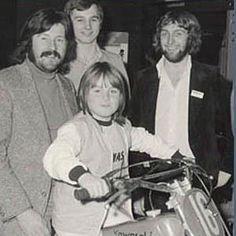 John Bonham & son Jason.