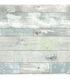 Wallpops 'Beachwood' Reusable Peel & Stick Vinyl Wallpaper available at Vinyl Wallpaper, Holz Wallpaper, Wallpaper Samples, Wallpaper Roll, Peel And Stick Wallpaper, Adhesive Wallpaper, Classic Wallpaper, Peelable Wallpaper, Rustic Wallpaper