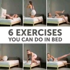 workout that you can do in bed ~ workout you can do in bed ; ab workout you can do in bed ; workout that you can do in bed Fitness Workouts, Fitness Herausforderungen, Sport Fitness, Physical Fitness, Fitness Motivation, Health Fitness, Health Exercise, Exercise In Bed, Workout On Bed