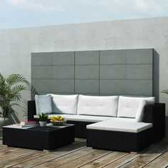 This stylish yet highly comfortable  garden sofa set will be the focal point of your terrace, garden or patio!FREESHIPPING NOW - LovDock.com