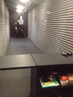 Zombie shooting range in your basement? Um, yes!!
