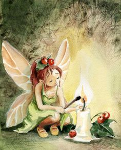 Christmas Fairy by asiapasek.deviantart.com on @deviantART..............d