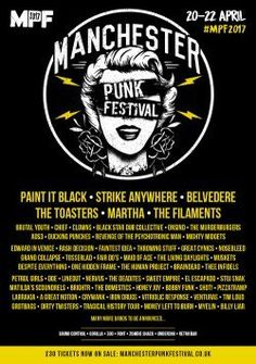 Manchester Punk Festival 2017 announce yet more artists  http://punx.uk/manchester-punk-festival-2017-announce-yet-more-artists/