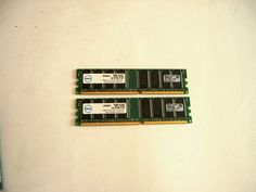 Genuine Dell SNPJ0203C/1G 2GB 2 x 1GB DDR SDRAM Desktop Memory PC3200 400Mhz #Dell