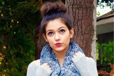 Macbarbie07 or Bethany Mota, she is seriously the coolest person ever and she has the best style in the world!!