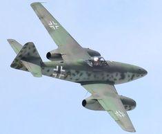 Luftwaffe Messerschmitt Me 262 Luftwaffe, Ww2 Aircraft, Fighter Aircraft, Fighter Jets, Messerschmitt Me 262, Military Jets, Military Aircraft, Image Avion, Me262