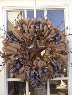 DIY Burlap Wreath ideas for every holiday and season (26)