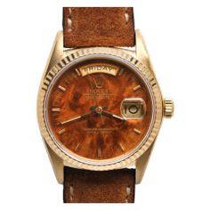 A wood dial Rolex!