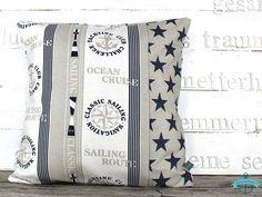 Kissenbezug Kissen OCEAN CRUISE maritim von dünenmädchen auf DaWanda.com