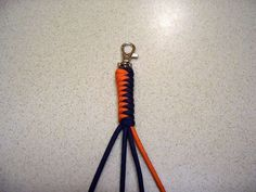 Paracord Lanyard w/ snake knot