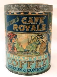 I just love these old tins, they have so much character & add color to any decor...