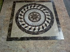Designer Tile Plus is the only place in Las Vegas where you can custom make medallions to fit the area you want it to be in