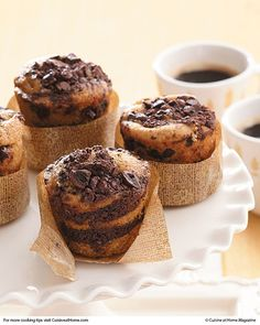 Mocha Coffee Cakes | Cuisine at home eRecipes