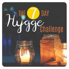 The 7 Day Hygge Challenge - Post Christmas and New Years and now January feels like a loooong cold month – who is up for taki - Cozy Living, Simple Living, Living Room, Glass Jars, Candle Jars, Danish Words, Love Wood Sign, Hygge Life, Hygge House
