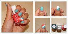 Classygirlschic: Scalloped Nails