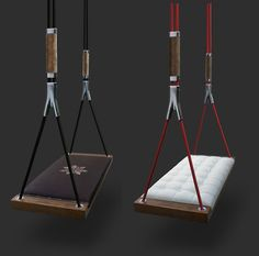 If It's Hip, It's Here: Svvving, A Handmade Luxury Indoor Swing For Grown-Ups In 19 Beautiful Models.