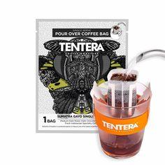 Pour-Over Coffee Bags - SUMATRA Gayo (Dark Chocolate) - Coffee vs Tea Coffee Vs Tea, Pour Over Coffee, Coffee Bags, Coffee Drinks, Macha Tea, Tea Club, Premium Coffee, Eco Friendly Paper, Dark Roast