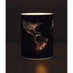 Night on Earth, photophore éco design, luminaire responsable, Christian Lessing.
