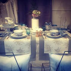 Be our guests!have a sit! #tablecloth #deco #kitchen #home #zarahome #nicedinner #kitchenware #kouzina