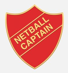 'Netball Captain' shield badge with enamel infill, gold plated words and a superior Ballou clutch fixing. Various colours are available. *colours may vary slightly in shade due to differing monitor colours and manufacturing processes Size Netball, Teen Wolf, Badges, Monitor, Enamel, Colours, Words, Shopping, Polish