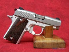 Kimber Micro 9 Stainless Barrel Rosewood Grips Guns > Pistols > Kimber of America Pistols Kimber Micro, Concealed Carry, Pistols, Girl Stuff, American Made, Firearms, Hand Guns, Fingers, Magazines