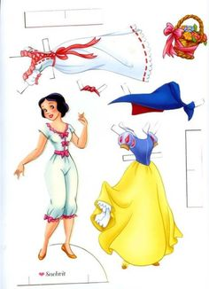 Billedresultat for free disney princess paper dolls printable Disney Paper Dolls, Paper Doll House, Paper Dolls Printable, Vintage Paper Dolls, Vintage Paper Crafts, Disney Crafts, Doll Crafts, Princesas Disney, Paper Toys