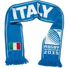 Italy - Rugby WC 2015 Scarf Ideal Gift for all Rugby Fans Scarf Dimensions x approx Brand New with Tags - Header Card Official Licensed Irb Rugby, Rugby World Cup, Header, Fans, Italy, Brand New, Gift, Shopping, Fashion