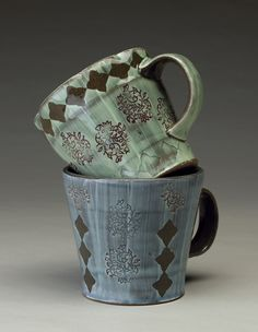 A functional potter interested in the intricacies of form, function and surface.