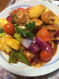 Sweet and Sour Chicken #glutenfree #sweetandsour