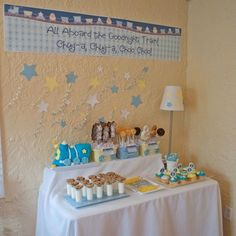 Goodnight Train Baby Shower Pictures, Photos, and Images for Facebook, Tumblr, Pinterest, and Twitter