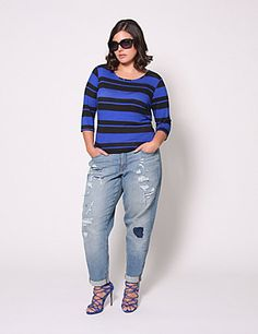 The go-to tee of the season. (Goes well with so many other pieces in the Christian Siriano collection, too.) lanebryant.com