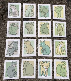 Jay Ryan Cat Installer Prints Box Set http://ift.tt/2lyiolL... #Arsetculture #Inside_the_Rock_Poster_Frame #Gig_Posters