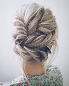 Wedding Hairstyles : Illustration Description Lena Bogucharskaya Wedding Updo Hairstyles / www.deerpearlflow… -Read More – - #WeddingHairstyle https://adlmag.net/2017/09/26/wedding-hairstyles-lena-bogucharskaya-wedding-updo-hairstyles-www-deerpearlflow-5/ #weddinghairstyles #shorthairstylesupdo