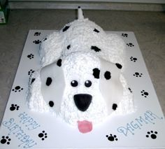 Puppy cake, Dog cake, cake decorating, cre8ive cakes