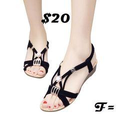 9e5061950a6a Womens Rhinestone Sandals Flip Flop Sandals