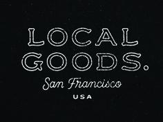 Local Goods - Wordmark