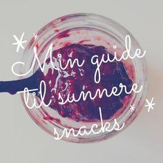 Her finner du inspirasjon til litt sunnere hverdagssnacks🤩 Snacks, Appetizers, Treats