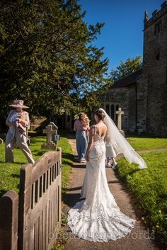 Bride in white wedding dress with veil arrives at Dorset stone church photograph by one thousand words wedding photographers Wedding Dress With Veil, White Wedding Dresses, Church Wedding Ceremony, One Thousand, Bride Portrait, Photographers, Wedding Photography, Portraits, Stone